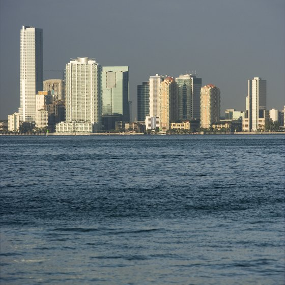 Miami has malls, sports teams and cultural attractions.