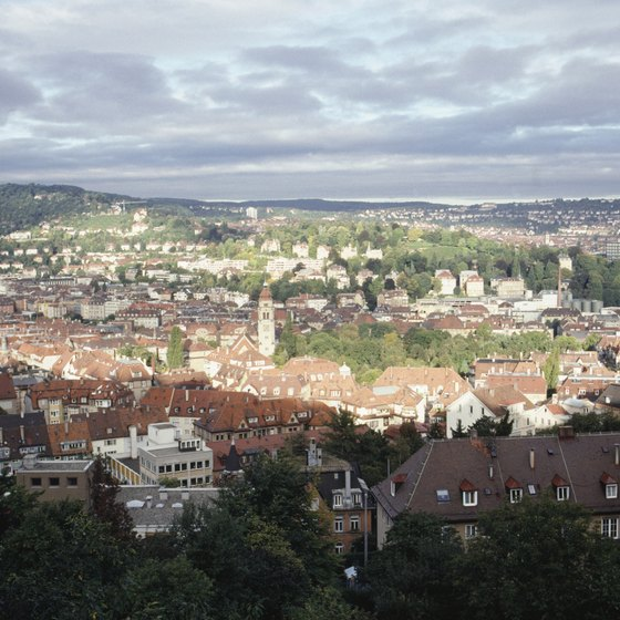 A view of Stuttgart