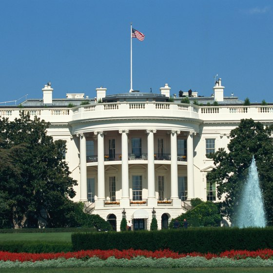 The White House provides public tours five days a week.