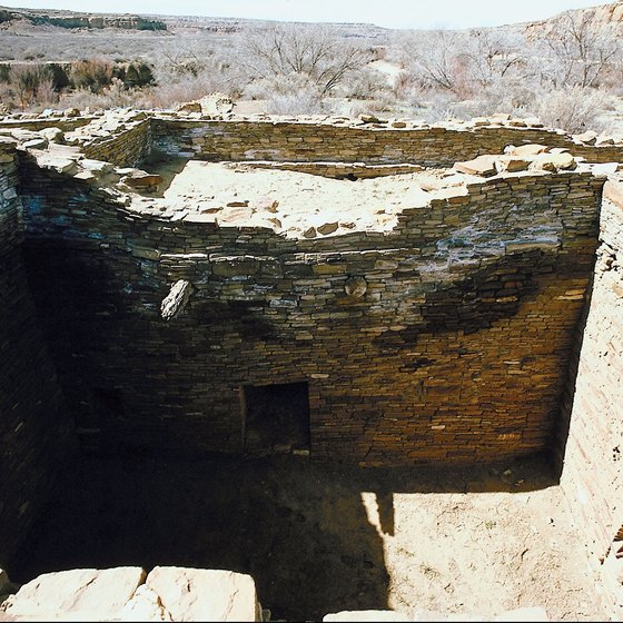Native American ruins in New Mexico.