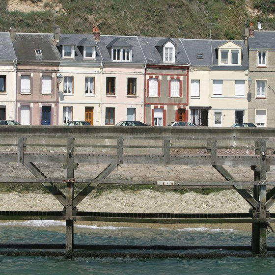 Within a short drive of Calais, Normandy's beaches are dotted with fishing towns like Fecamp.