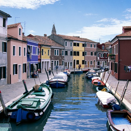 Consider taking a gondola ride through Venice's canals before you leave on your Mediterranean cruise.