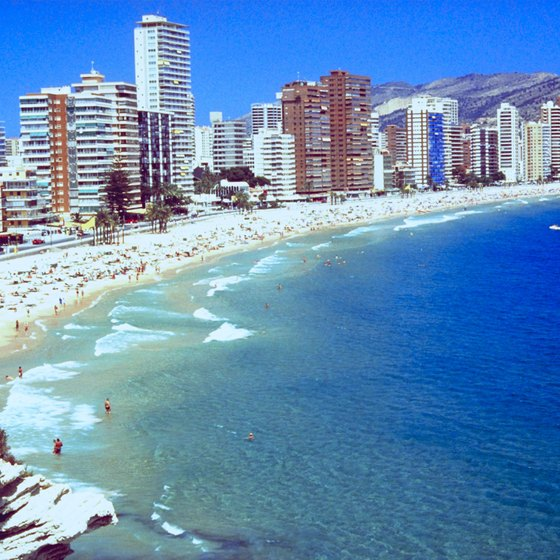 Valencia's beaches make it a popular tourist destination.