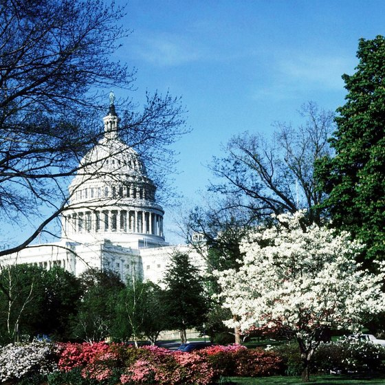 Many D.C. landmarks, like the Capitol building, remain free of charge.