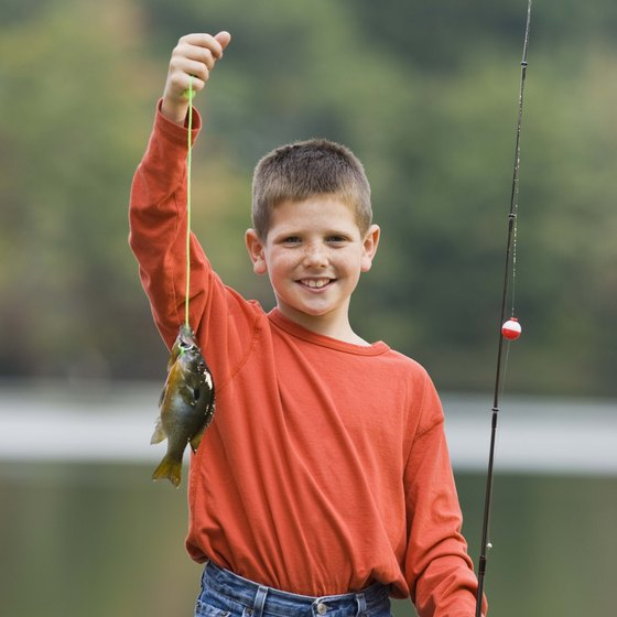 Visitors to RV Parks on Lake Quachita can go fishing.