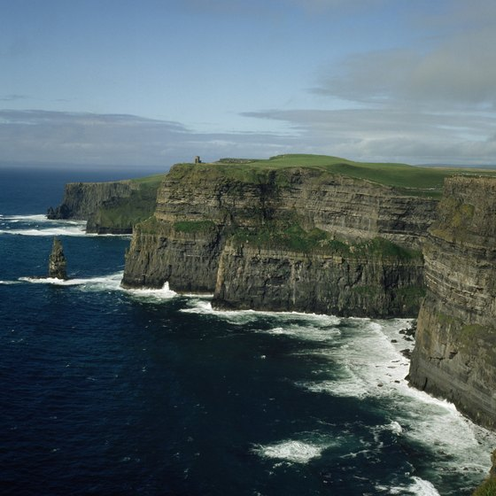 Ireland is a short flight from New York but another world.