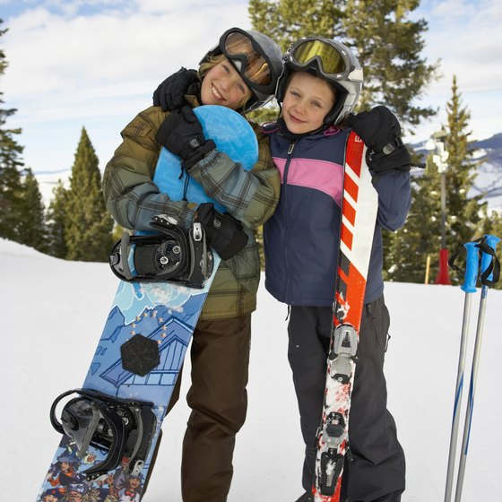 New Mexico offers eight snowboarding venues.