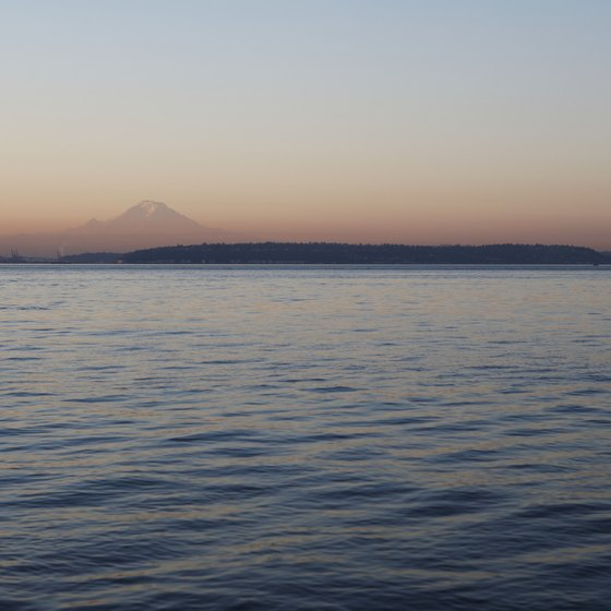 Camano Island lies in the waters of the Puget Sound in Washington state.