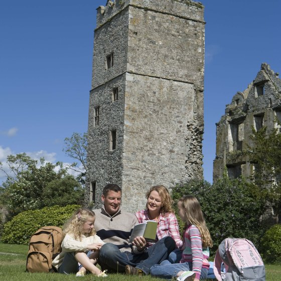 Ireland's castles and dramatic landscapes make it a popular tourist destination.