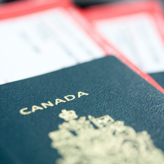 When sharing citizenship with the U.S. and Canada, you must still use your passport when passing between borders.