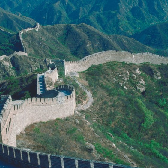 The Great Wall is an essential tourist stop and a tough climb.