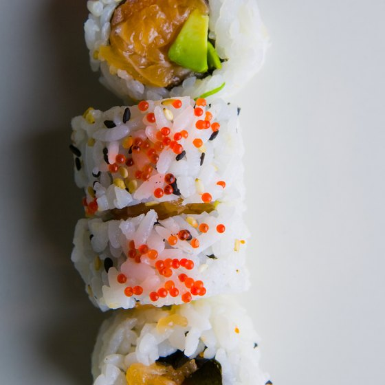 Enjoy a sushi feast when dining in Winona Lake, Indiana.