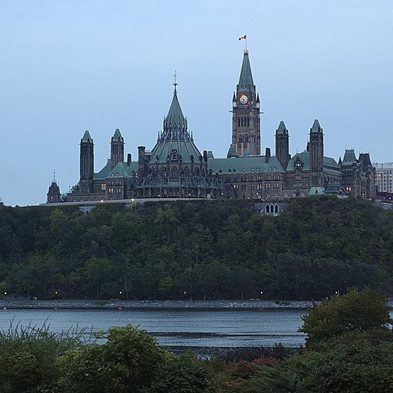 The Canadian capital of Ottawa features numerous affordable restaurants near Scotiabank Place.