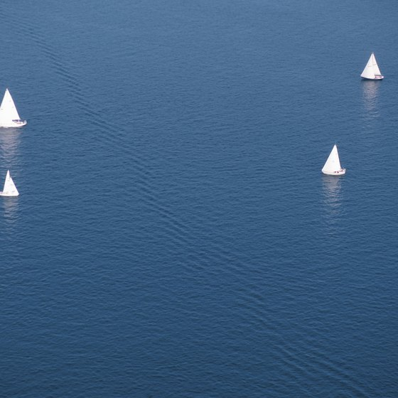 Sailing on Lake Ontario is one of the activities that visitors to Sackets Harbor can enjoy.