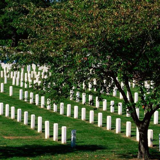 Washington's suburbs have much to offer, with sites such as Arlington National Cemetery.