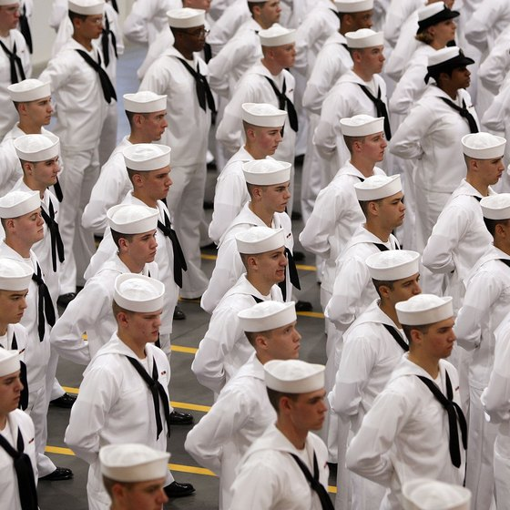 The Great Lakes Naval Base prepares sailors for duty.