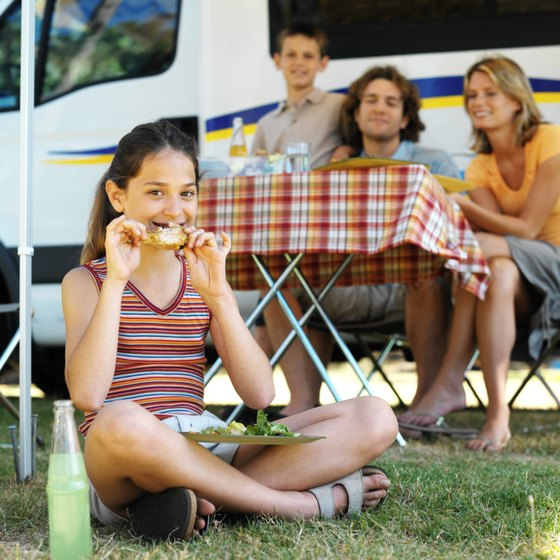 Peterborough offers various trailer camping options for vacationers.