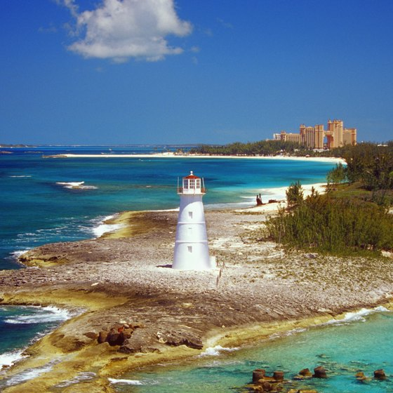 Lighthouse preservation is importan in the Bahamas.
