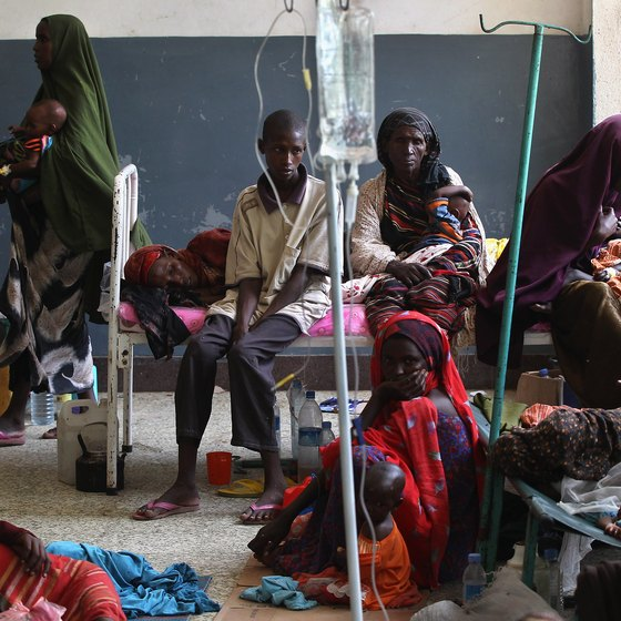 The conditions in Somalia are harsh.