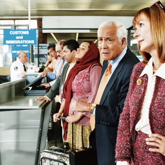 A lucky few passengers can skip the lines and avoid airport security.
