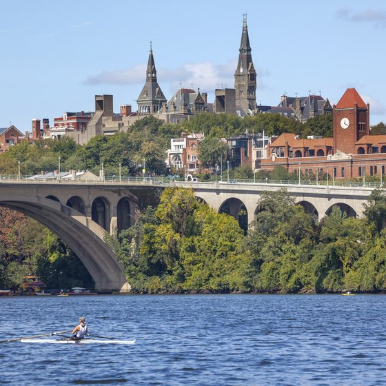 Cruising the Potomac River is a unique way to experience national landmarks, from Georgetown to Alexandria.