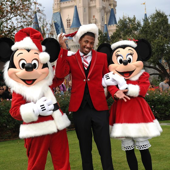 Walt Disney World goes all-out during the holidays.