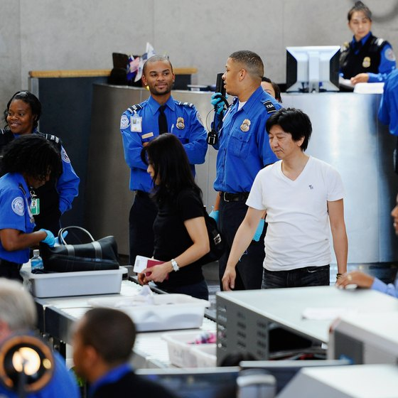 All passengers must be screened by TSA agents.