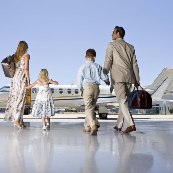 The rules for kids flying domestically are different than for adults, but the same for international travel.