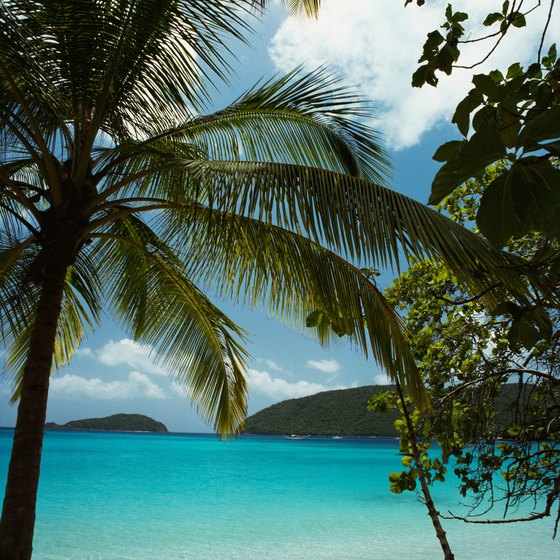 The Caribbean islands are ideal for honeymoons.