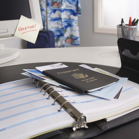 Don't forget important travel documents when packing for a trip.