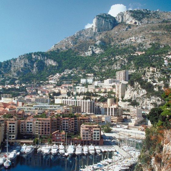 Monte Carlo, Monaco, is a glamour hotspot in the French Riviera.