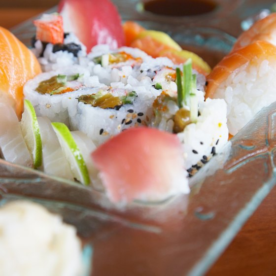 Authentic Japanese dishes are available even in the Midwestern heartland of Nebraska.