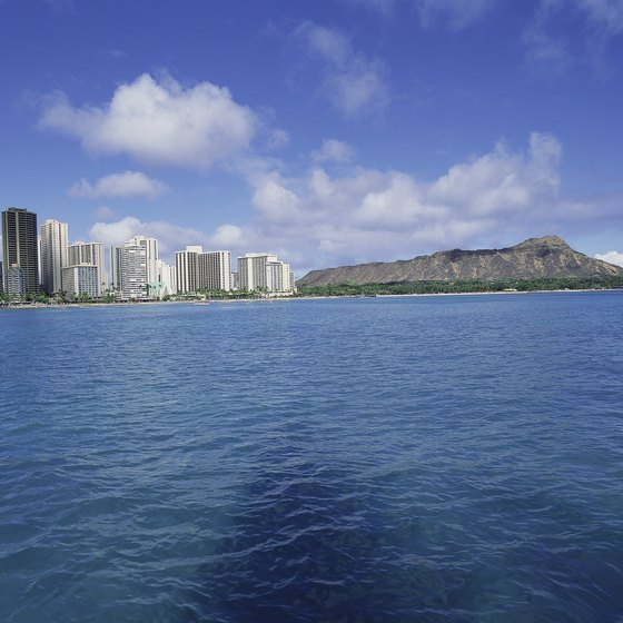 The waters near Honolulu offer snorkeling close to lodging and restaurants.