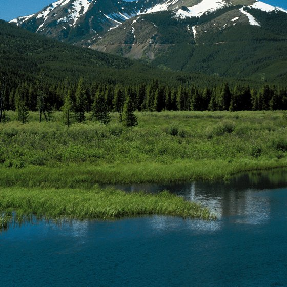 Most of Colorado's many wilderness areas lie in the Southern Rockies.
