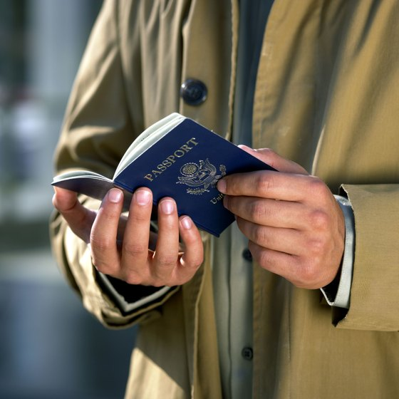 Try to avoid damaging your passport, as it's easier to renew with an undamaged one.