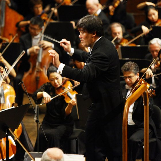 The New York Philharmonic is only one of the city's orchestras.