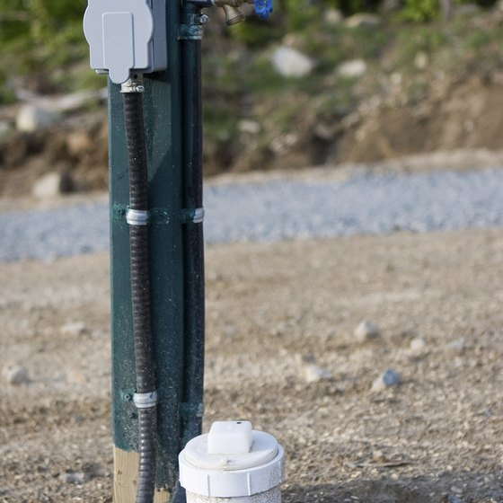 Hook up to campground water in a matter of minutes.