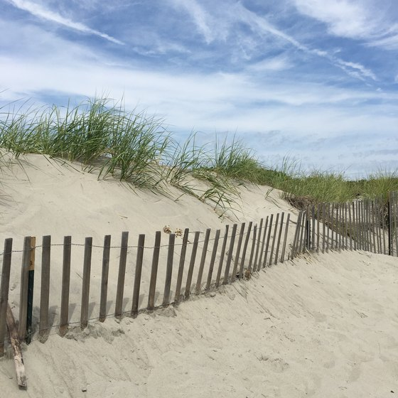Beaches in Little Compton, Rhode Island