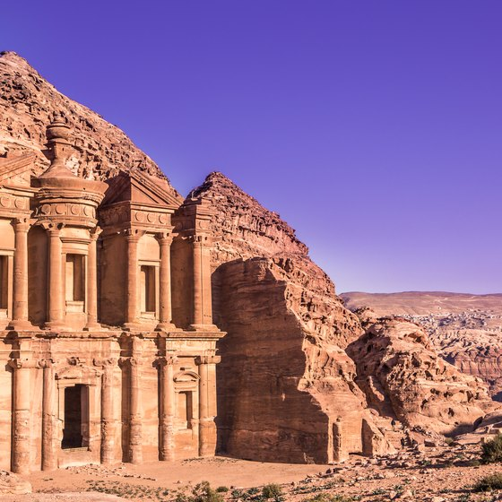 Descriptions of the Major Landforms in Jordan