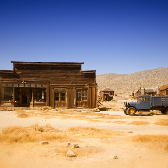 Tourist Ghost Towns in the Old West