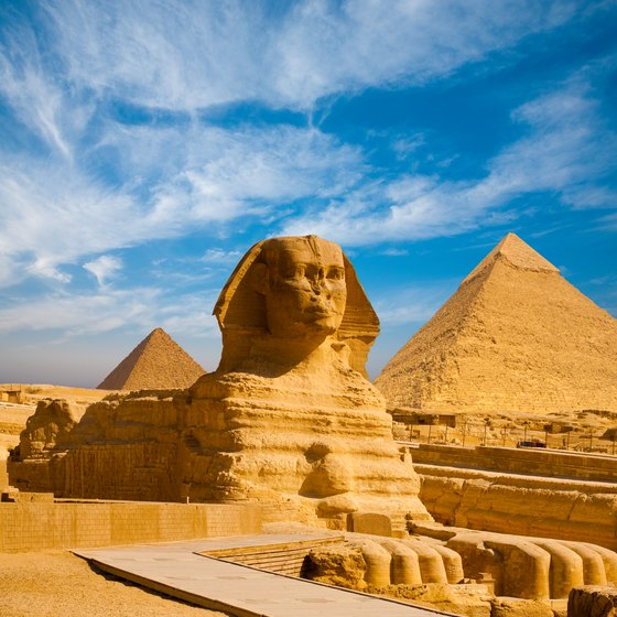 Egyptian Giza Pyramids >> Information About the Great Sphinx of Giza | USA Today