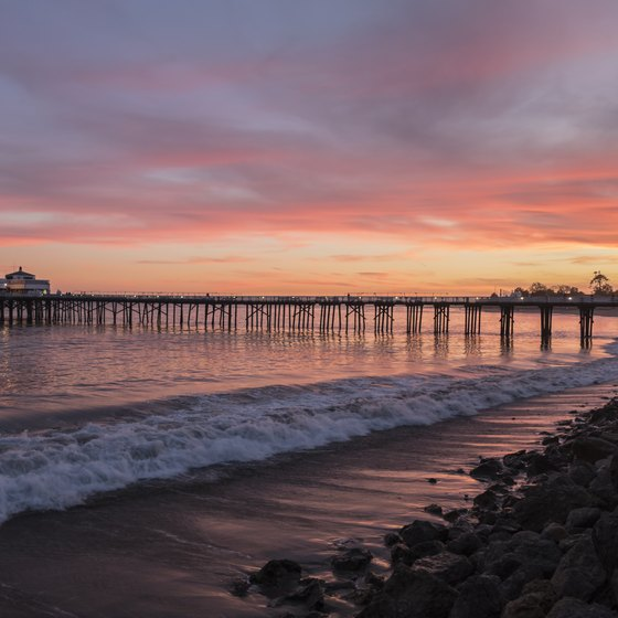 Bike Rides on the Beach in Malibu