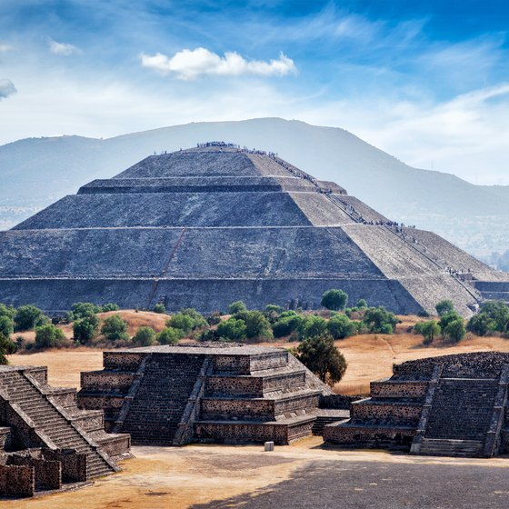Information on Aztec Pyramids | USA Today