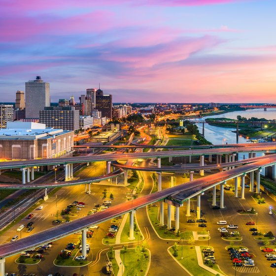 Attractions at Mud Island in Memphis, Tennessee