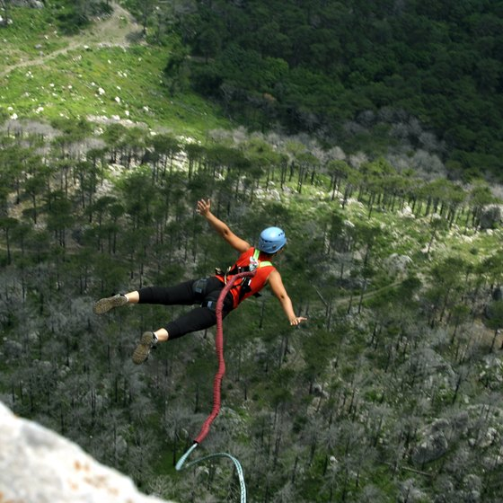 Bungee Jumping Locations in Tennessee