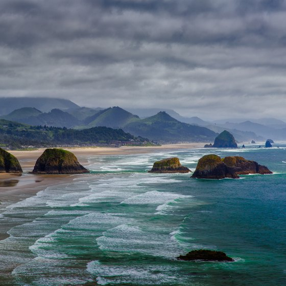 Beaches In Florence Oregon Usa Today
