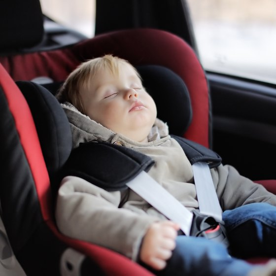 How to Help Infants Sleep During a Road Trip