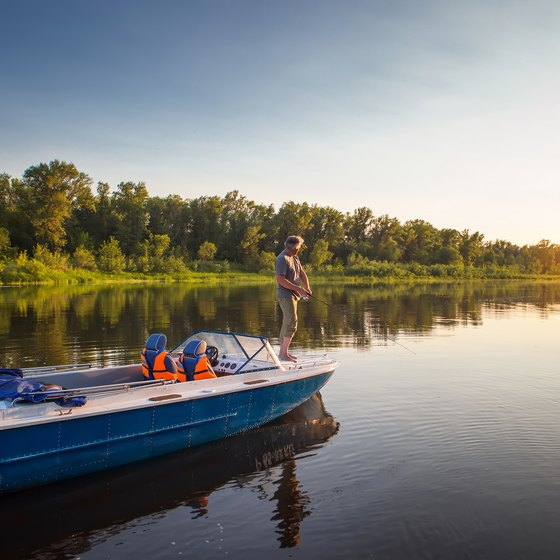 Fishing Hot Spots in Heidecke Lake, Illinois