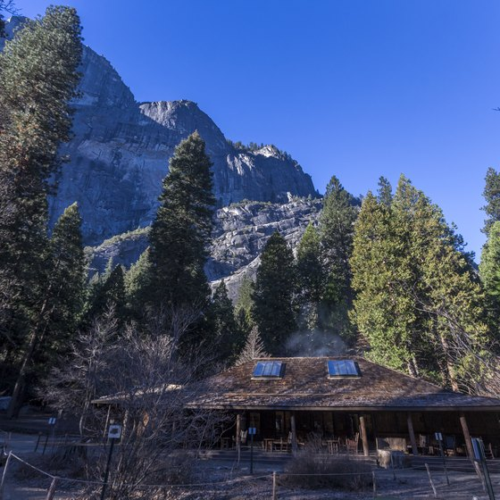 Couples Cabins in Yosemite