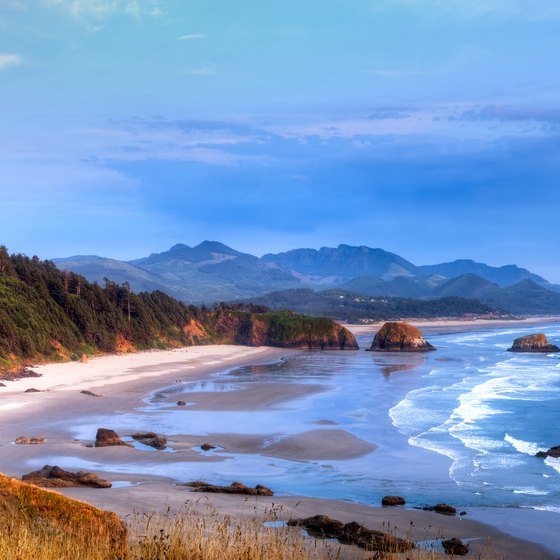 Beaches by Seaside, Oregon